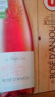 Vin rosé AOP d'Anjou les hauts buis - Product