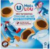 Mini tartelettes au chocolat au lait coeur fondant au lait - Produit
