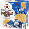 Goûters ronds fourrés chocolat - Product