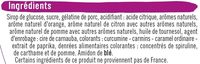 Assortiment confiseries gélifiées aromatisé. - Ingrediënten - fr