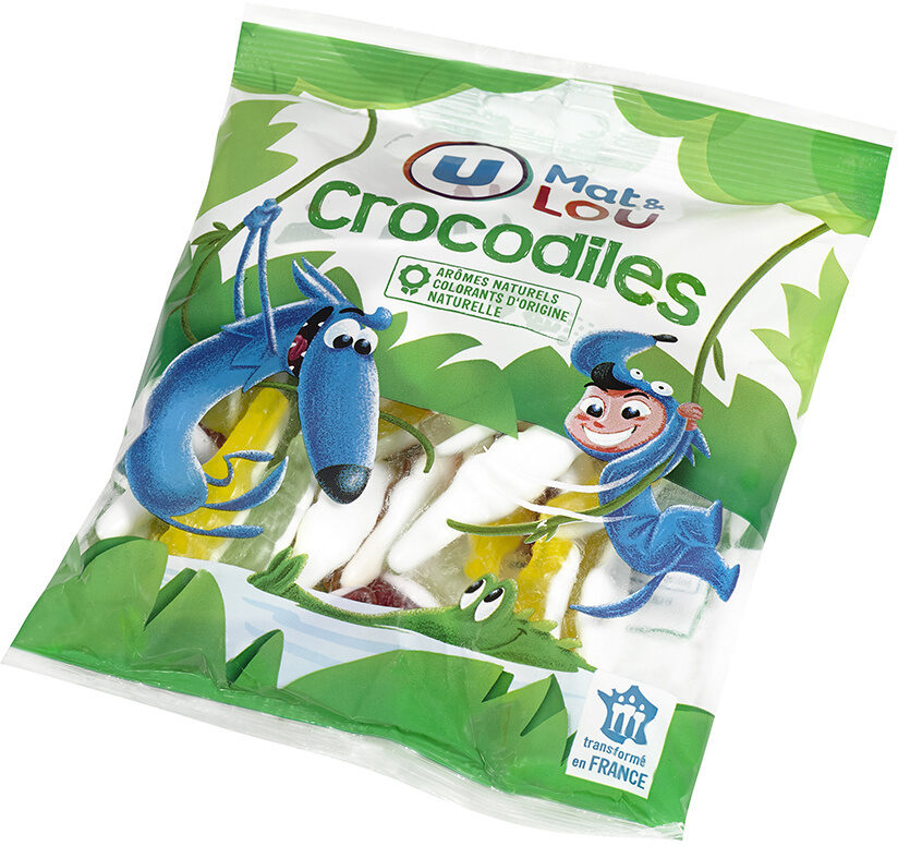 Gélifiés crocodile - Product