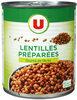 Lentilles préparées - Produit
