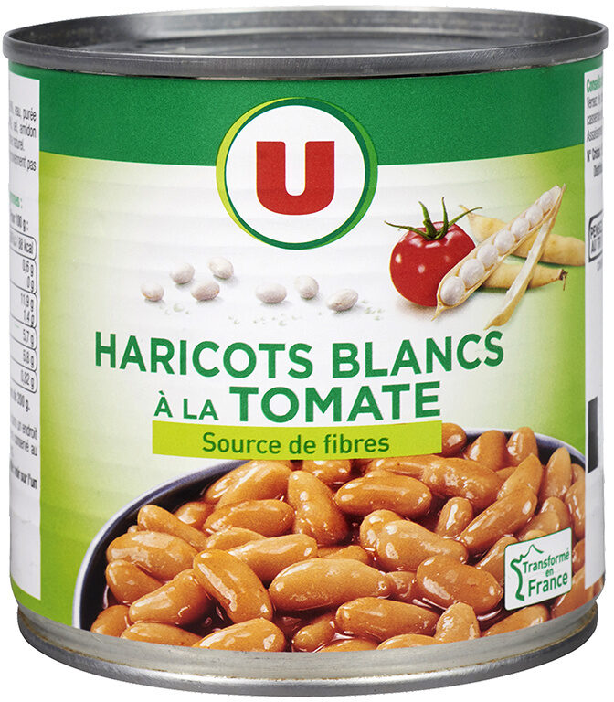 Haricots blancs tomate - Product