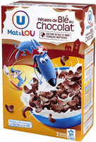 Céréales pétales de blé chocolat - Produit - fr