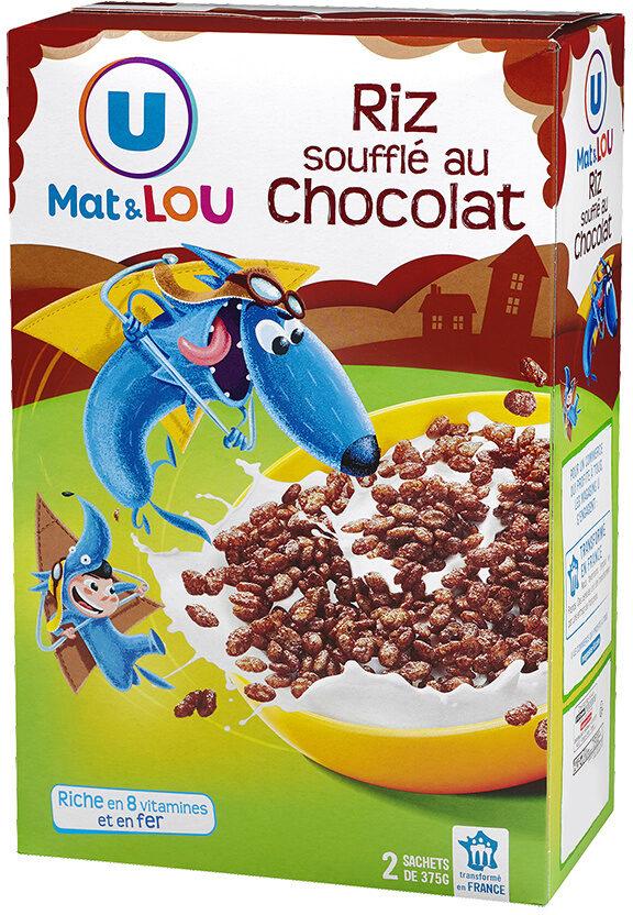 Riz soufflé enrobé de chocolat - Product