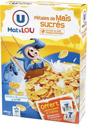 Pétales de maïs glacés au sucre - Product - fr