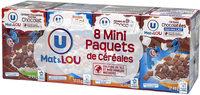 Pack mini paquets de céréales - Produit - fr