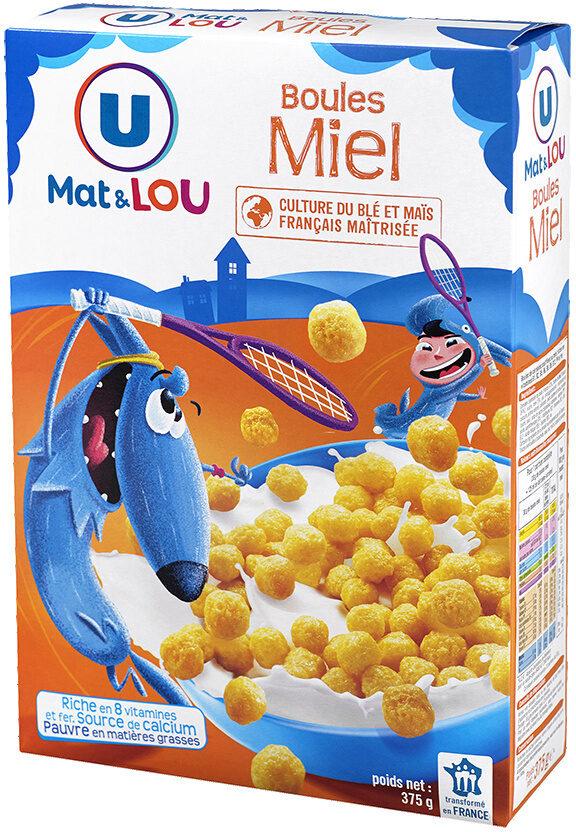 Boules de céréales miel - Product - fr