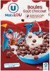 Boules de céréales goût chocolat - Product