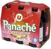 Panaché aromatisé à la grenadine - Produit