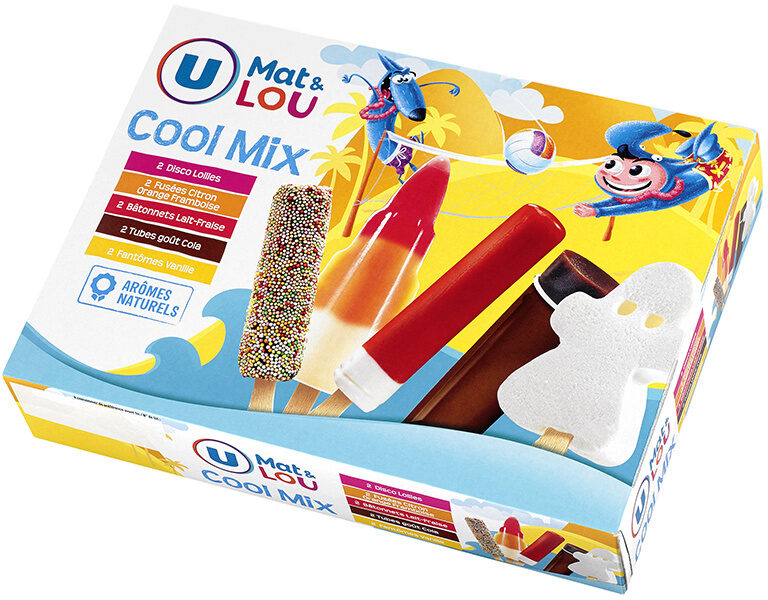 Assortiment glaces cool mix - Product