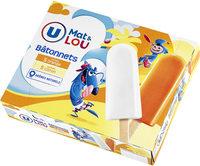 Bâtonnets glace à l'eau orange & citron, - Product