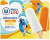 Bâtonnets glace à l'eau parfum orange & citron - Product