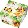 Dessert de fruits pomme/abricot pomme/banane - Produit