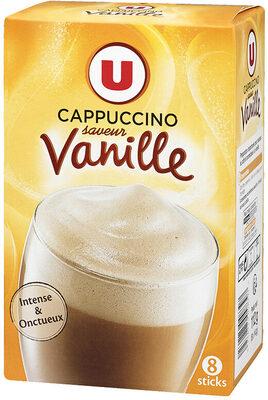Préparation instantanée pour boisson au café et aromatisée à la vanille - Produit - fr