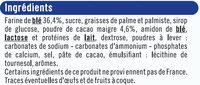 Biscuits fourrés noir et blanc - Ingrediënten - fr