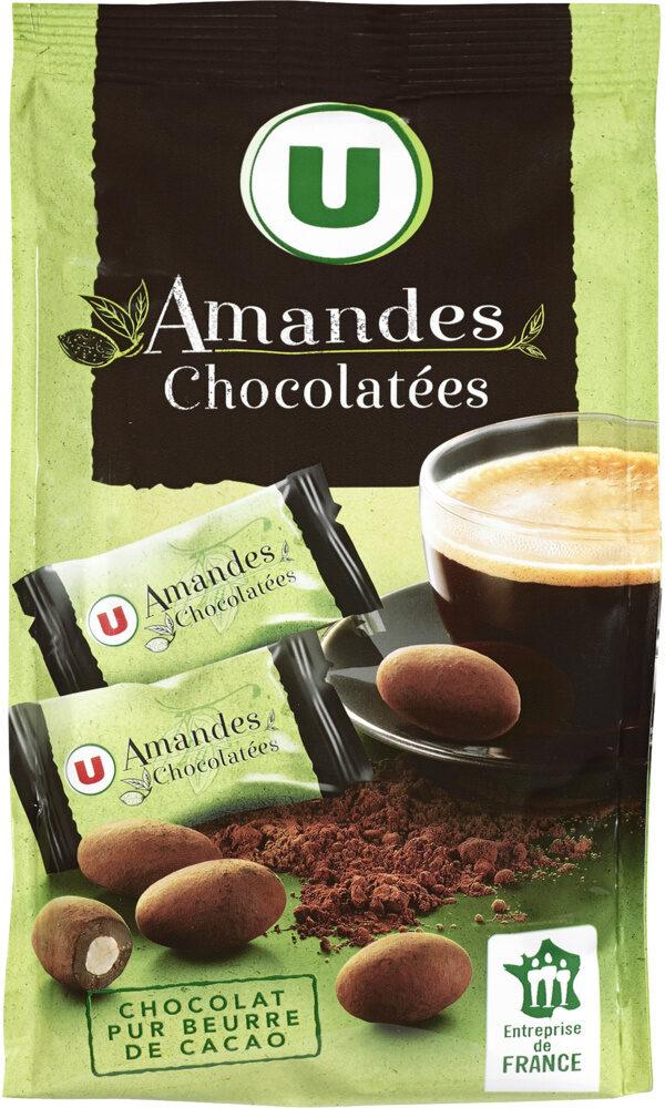 Amandes chocolatées - Produit - fr