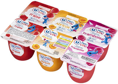 Mousse de fromage frais sucré fruits au lait pasteurisé  7% de mg - Product