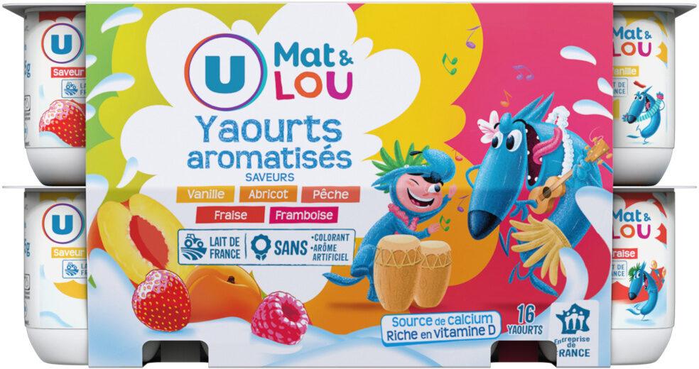 Yaourts sucrés aromatisés panachés - Product - fr