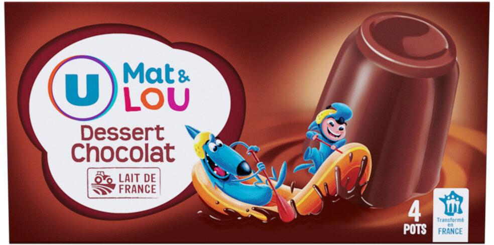 Dessert lacté gélifié au chocolat - Produit - fr