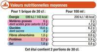 P'tit velouté potiron au fromage blanc - Informations nutritionnelles - fr