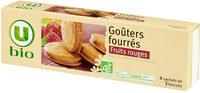 Goûters fourrés aux fruits rouges - Product