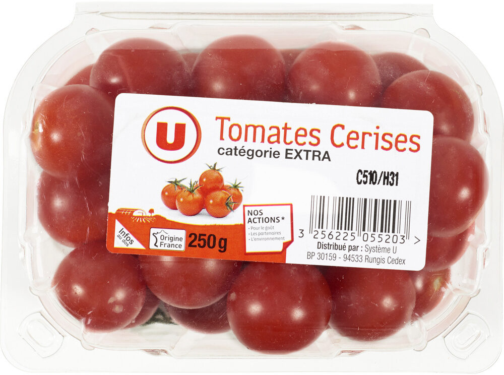 Tomate cerise, catégorie Extra - Product - fr