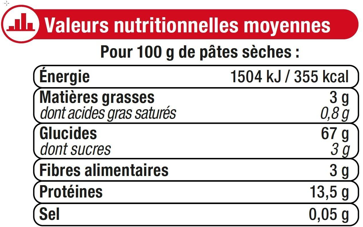Nouilles en Nids - Ingredienti - fr