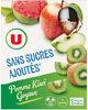 Gourdes pomme kiwi goyave sans sucre ajouté - Product