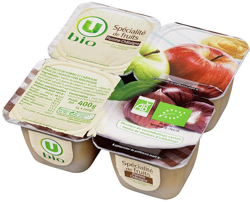 Spécialité de fruits pomme châtaigne - Produit