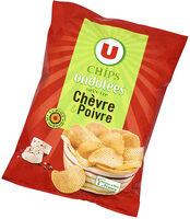 Chips ondulées saveur chèvre poivre - Prodotto - fr