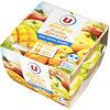 Purée pommes mangues et purée pommes abricots sans sucres ajoutés - Product