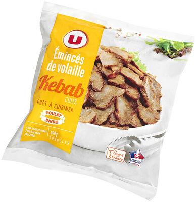 Emincés de volaille cuits kébab - Product
