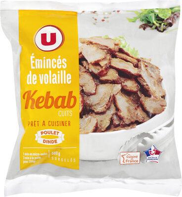 Emincés de volaille cuits kebab - Product - fr