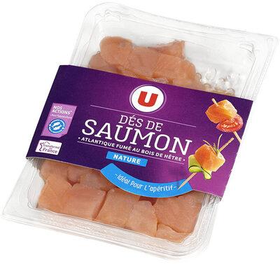 Dés de saumon fumé nature - Product