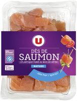Dés de saumon fumé nature - Product - fr
