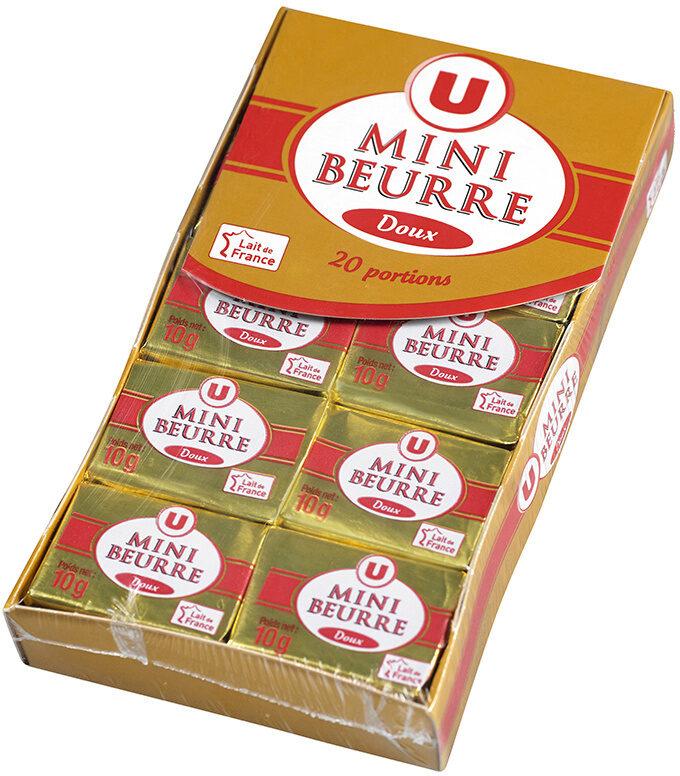 Mini beurre doux 82% de MG - Product