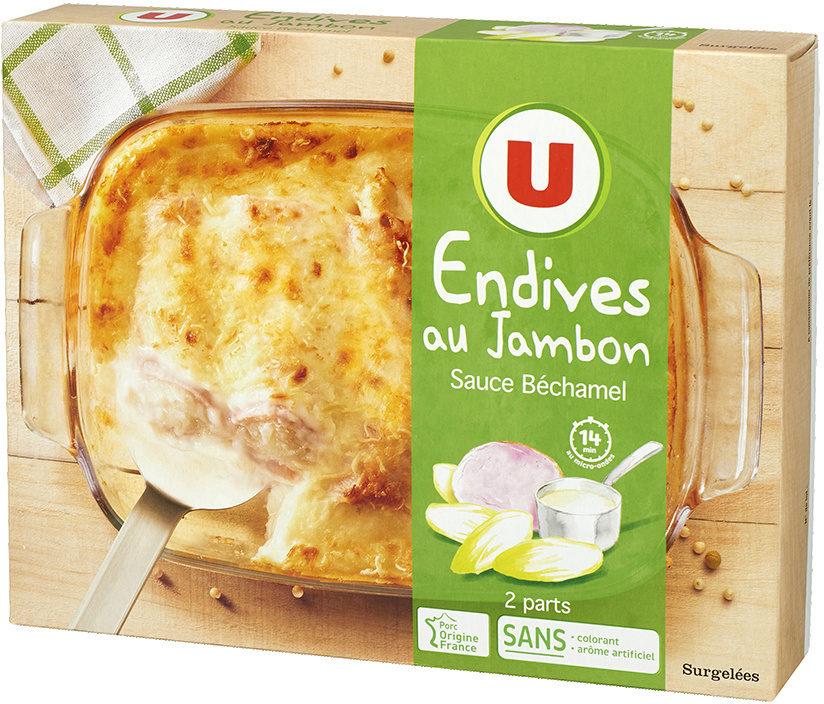 Endives au jambon sauce béchamel - Product - fr