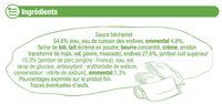 Endives au jambon sauce béchamel - Ingredients - fr