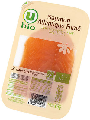 Saumon fumé Atlantique, - Product - fr
