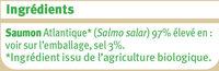 Saumon fumé Atlantique, - Ingredients - fr