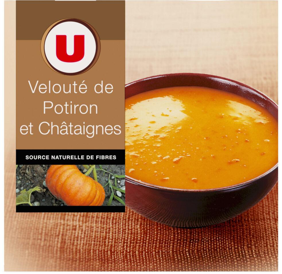 Velouté potiron châtaignes - Produit - fr