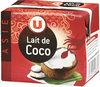 Lait de Coco - Produit