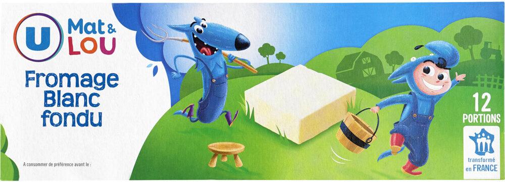 Fromage blanc fondu au lait pasteurisé 30%MG - Produit - fr