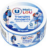 Fromage pasteurisé triangles fondants fromagers  5%mg - Product