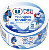 Fromage pasteurisé triangles fondants fromagers  5%mg - Produit
