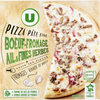 Pizza au boeuf fromage ail et fines herbes - Product