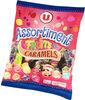 Assortiment bonbons saveurs fruits et caramels - Produit