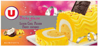 Bûche glacée parfum coco passion et fruits exotiques - Product - fr