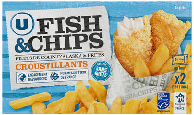 Fish and Chips - Produit - fr